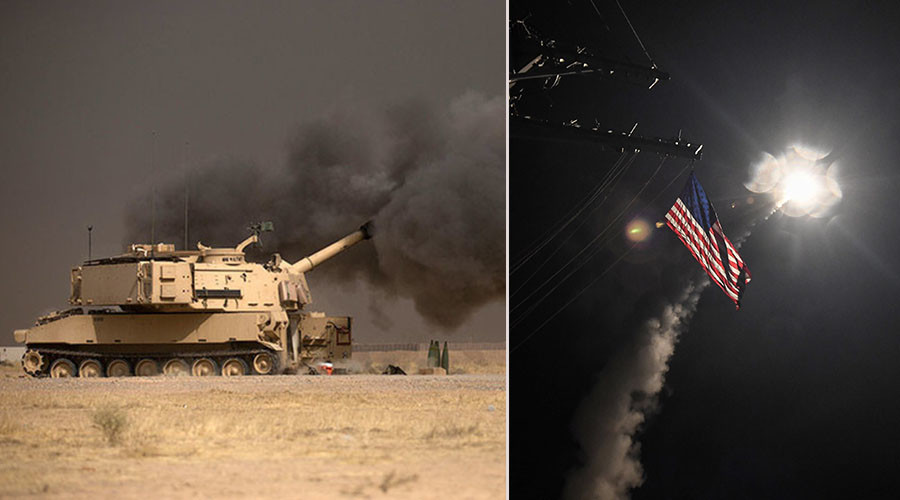 Disregarding cruel lessons of Iraq War, Trump launches attack on Syria