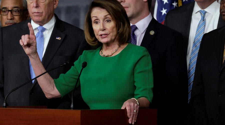 Democrat leader Pelosi calls for House debate on Trump's Syria strike
