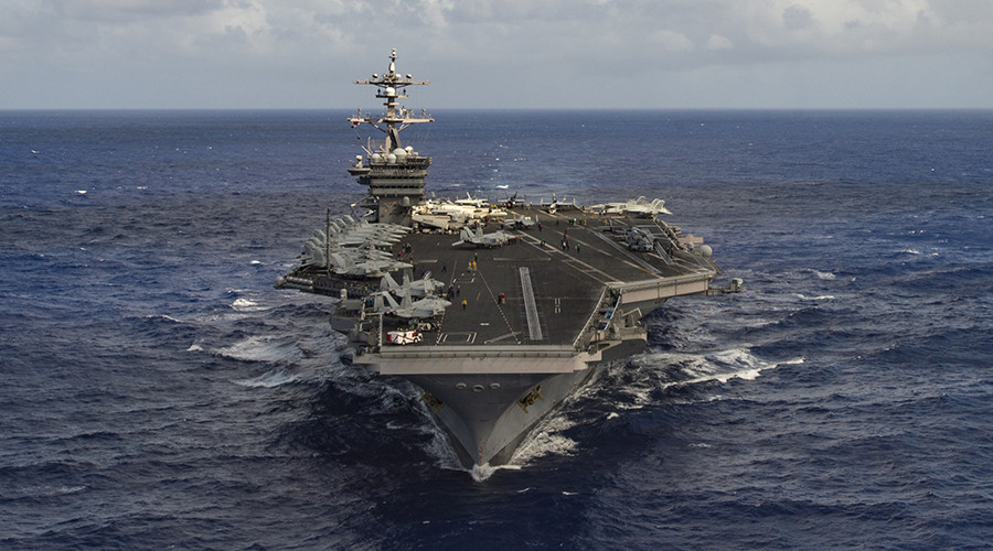 US Navy strike group heads towards N. Korea over Pyongyang's 'nuclear threat'