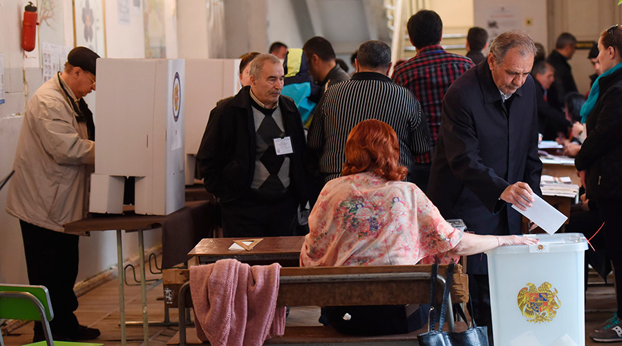Armenia's ruling party wins parliamentary polls – official results