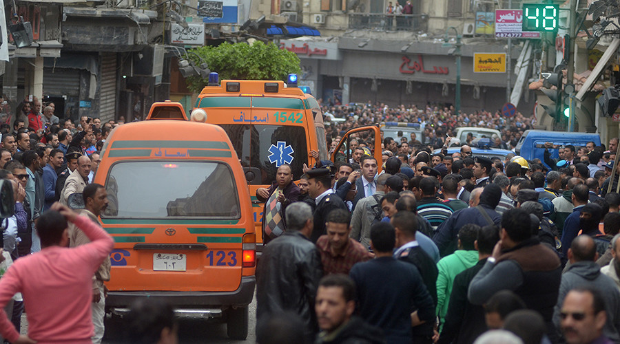 'Main question of Egypt Coptic church attacks: Who's behind the terrorists?'