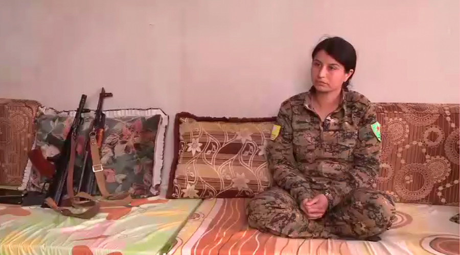 'All massacres being committed by ISIS' - Kurdish militia commander fighting for Raqqa to RT