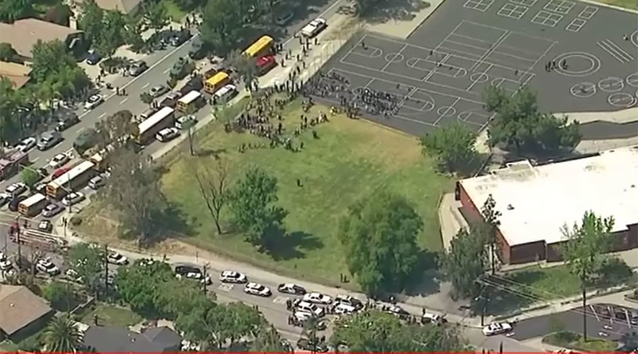 2 students injured, 2 adults dead in San Bernardino school murder-suicide