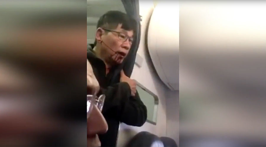 'Putting hospital in hospitality': United Airlines mercilessly trolled over video firestorm
