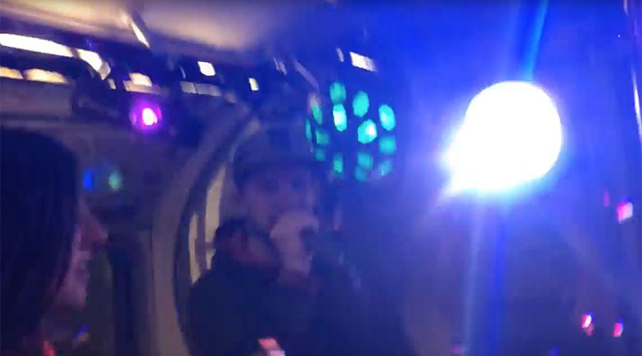 Underground drum 'n' bass! London Tube train transformed into 'pop-up club' (VIDEO)
