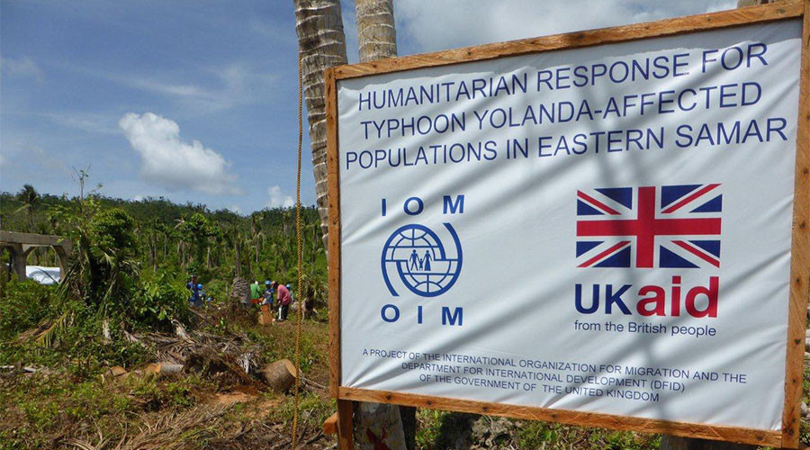 Britain handed over £14bn in taxpayer cash to developing nations in 2016