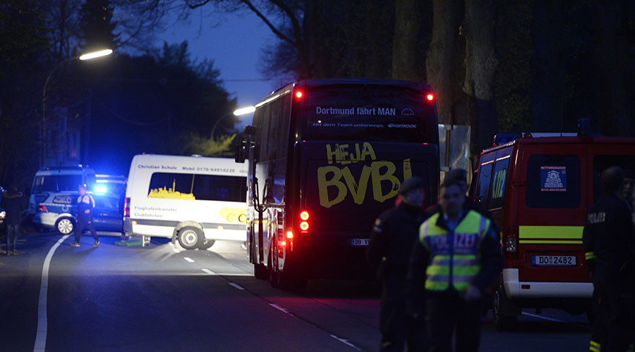 Dortmund bus bomb: German police detain suspected Islamist