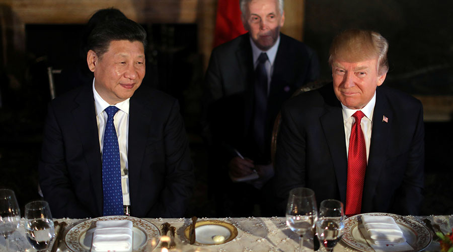 Trump says he told Xi how he bombed Syria over 'most beautiful piece of cake'
