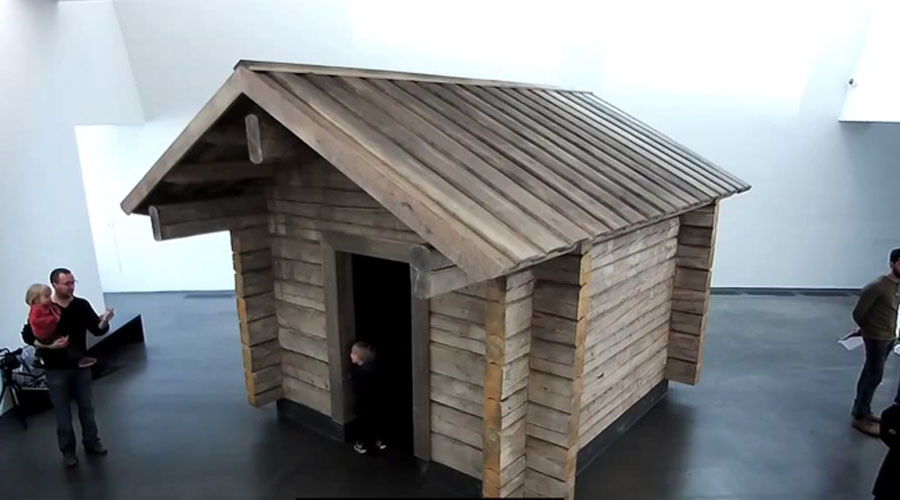 Cabin fever: Shia LaBeouf fires back as trolls target his Lapland-based art project