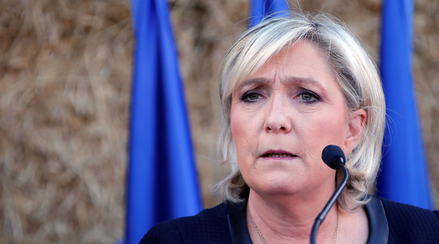 Google Maps puts Marine Le Pen in presidential Elysee Palace (IMAGES)