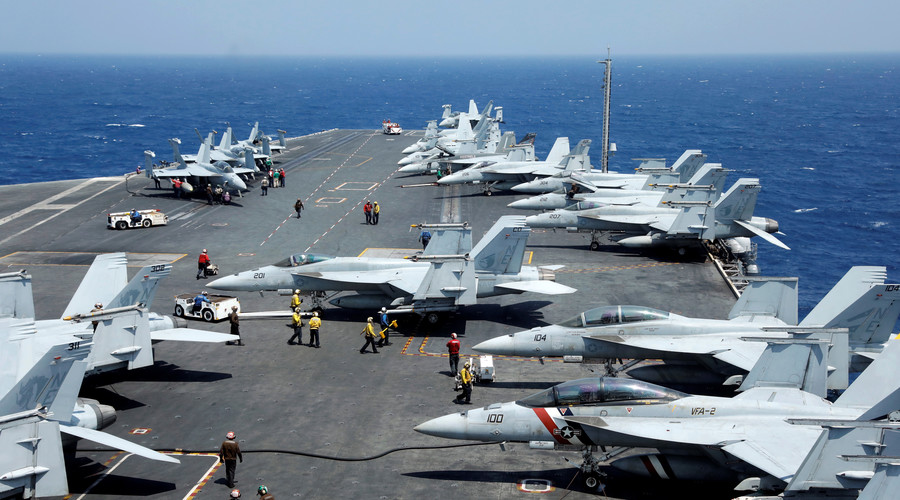 'Considering full range of options': Pentagon remains silent on possible N. Korea strike reports