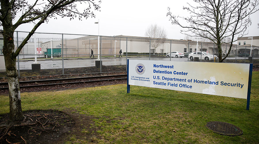 At least 750 immigrants on prison hunger strike over $1 a-day-pay and conditions