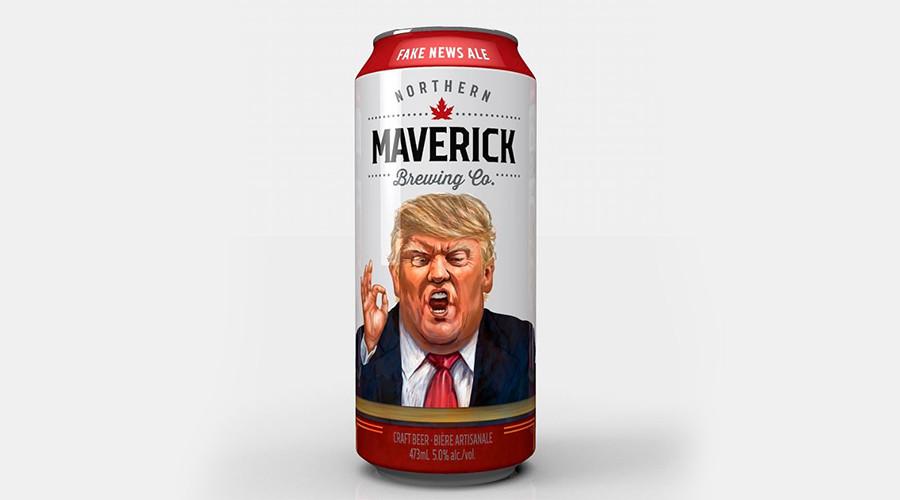 Make Beer Great Again: Crafty Canadian beer pokes fun at Trump
