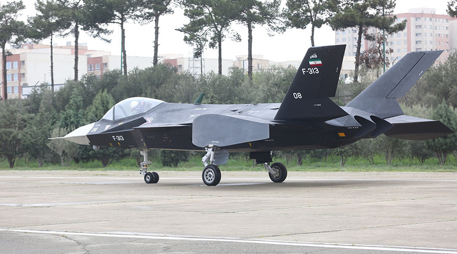 Iran shows off its elusive new fighter jet – but not in flight (VIDEO, PHOTOS)