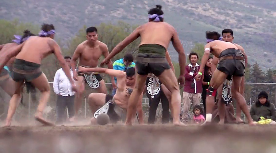 Pelvis power! 3,000yo Mayan ball game thrust into 21st century in Mexico