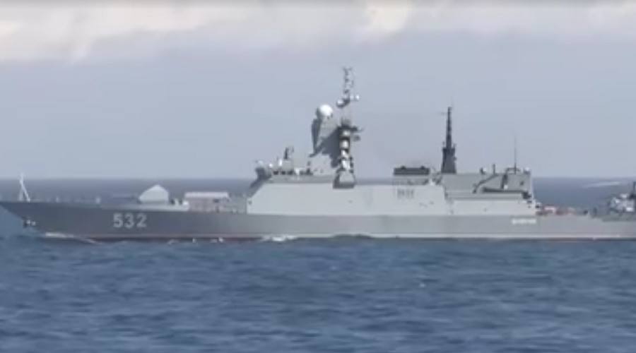 Royal Navy 'detects' & 'marks' Russian warships in English Channel (VIDEO)