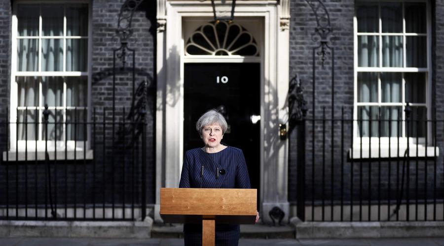 Theresa May calls for snap UK general election June 8