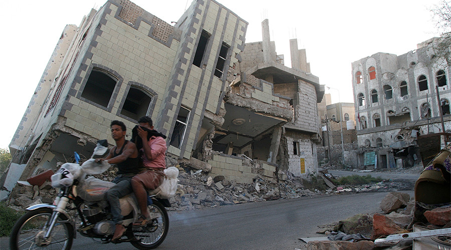 Yemen crisis: 'Made in the USA'