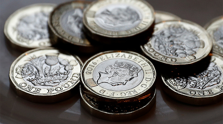 British pound hits 10wk high as May calls for early election