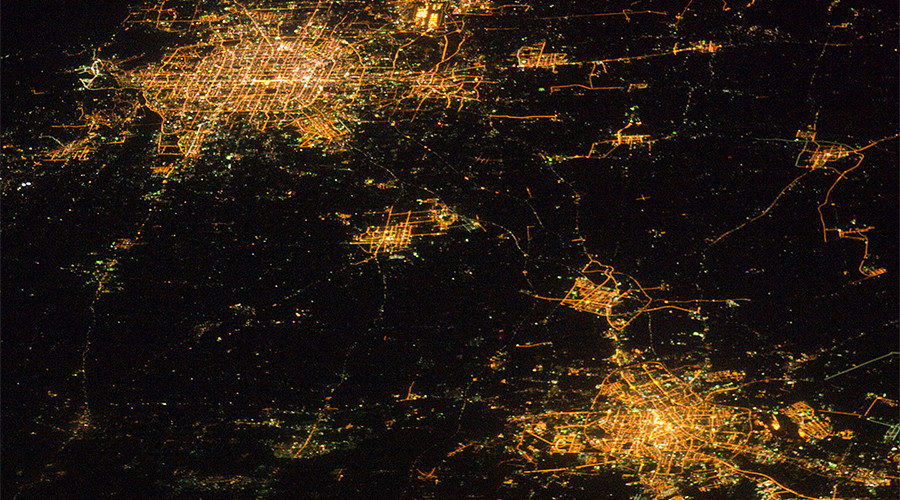 China's nighttime lights reveal surprising tempo of economic growth