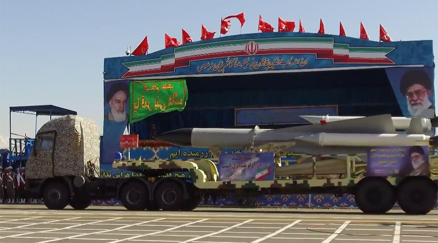 Iran shows off newest long-range missiles at Army Day parade