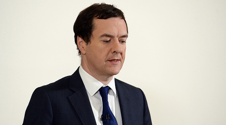 Ex-Tory Chancellor George Osborne quits as MP