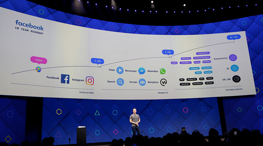 'Type messages with your brain': Facebook teases development of new silent speech technology