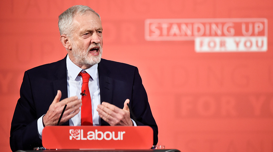 Leadership at last? Corbyn attacks 'rigged system' in 1st election campaign speech