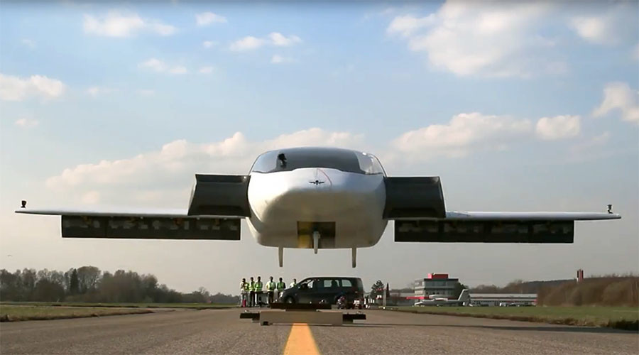 Up and away: 'Flying car' nails vertical take-off in stunning test run (PHOTO, VIDEO)