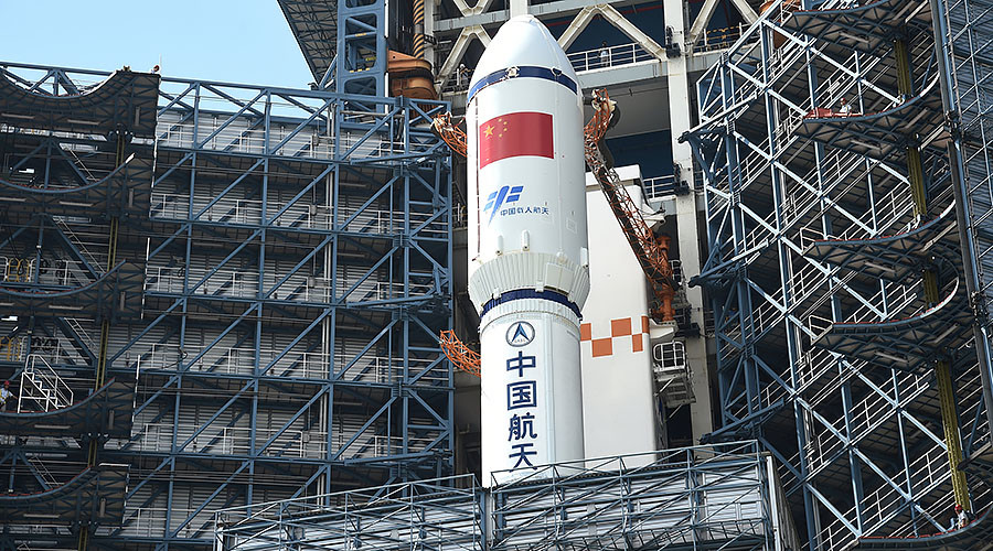 China launches first cargo spacecraft