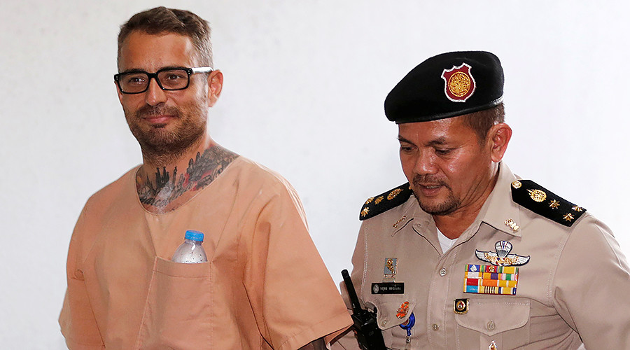 Spanish man sentenced to death in Thailand for gruesome murder