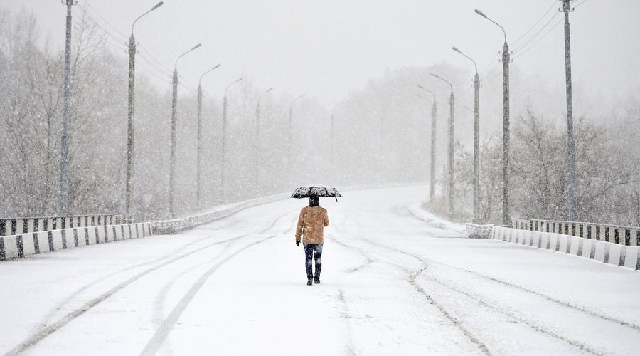 'April, you are so winter': Blizzards won't let up in Russia, E. Europe (PHOTOS)