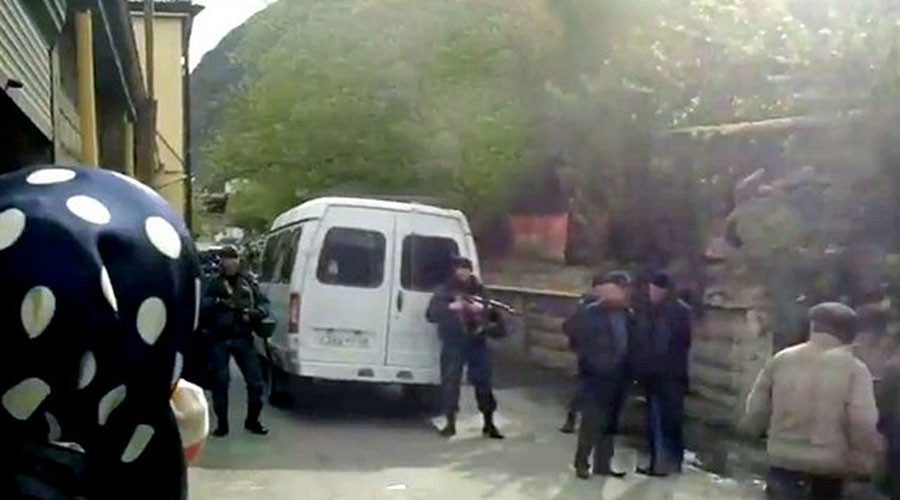 1 child killed, 11 injured as teen brings grenade into computer lab in Dagestan, Russia (VIDEO)