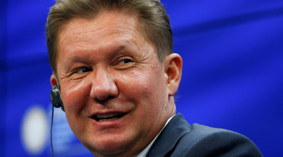 Gazprom CEO sees Russian dominance of European gas market