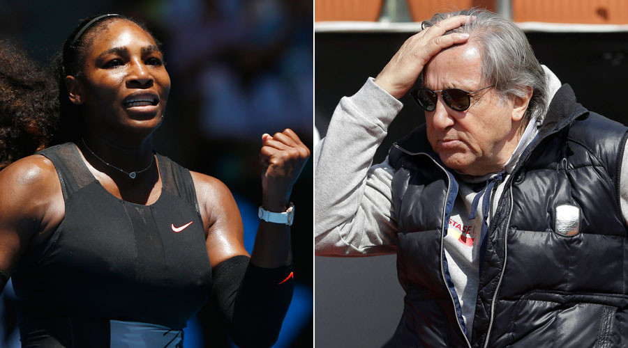 Williams blasts Nastase over 'racist & sexist' comments, backs official probe