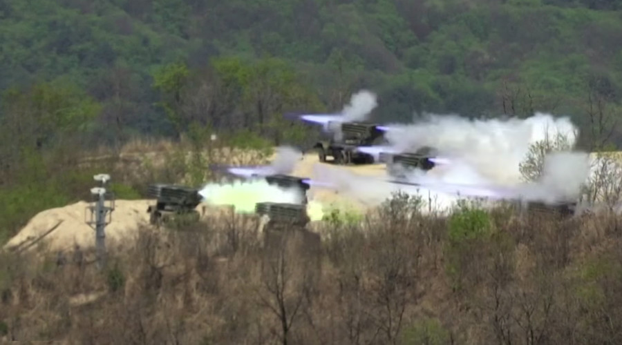 US, S. Korea stage powerful military drills amid rising tensions with Pyongyang (VIDEO)