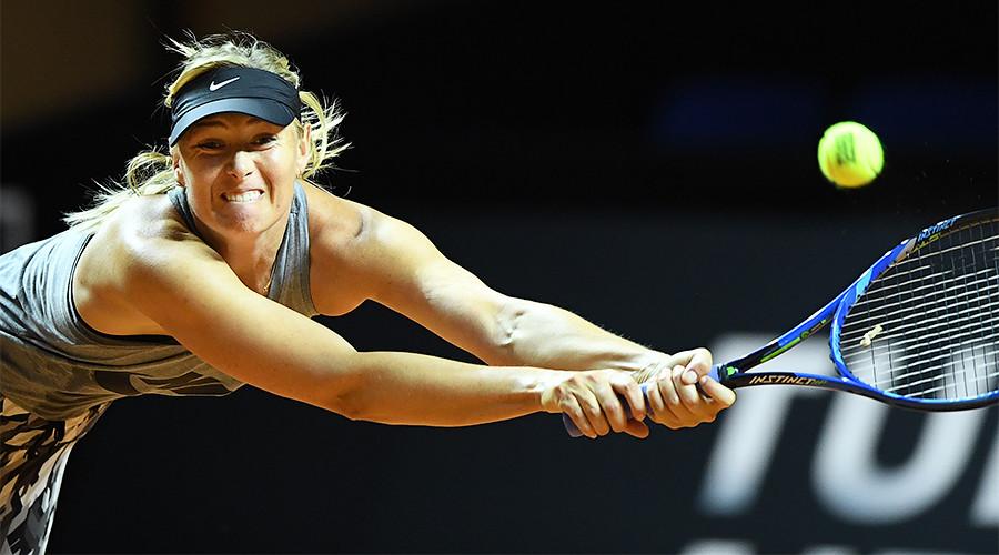 Maria Sharapova beats Roberta Vinci on comeback from doping ban in Stuttgart Open