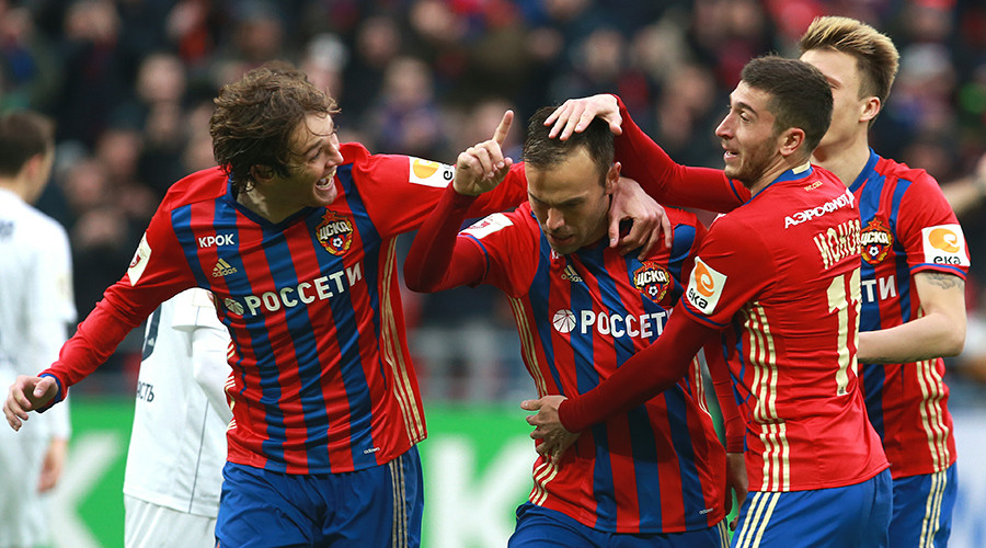 Champions CSKA thrash Lokomotiv in Moscow derby to keep heat on leaders Spartak