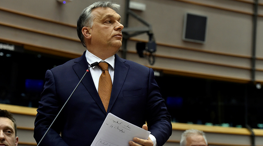 'Like being accused of murder while victim is alive': Orban fights accusations over Soros university