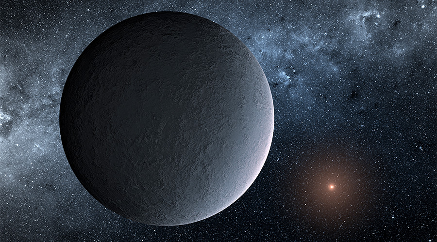 Amazing Earth-sized planet dubbed the 'iceball' discovered by NASA