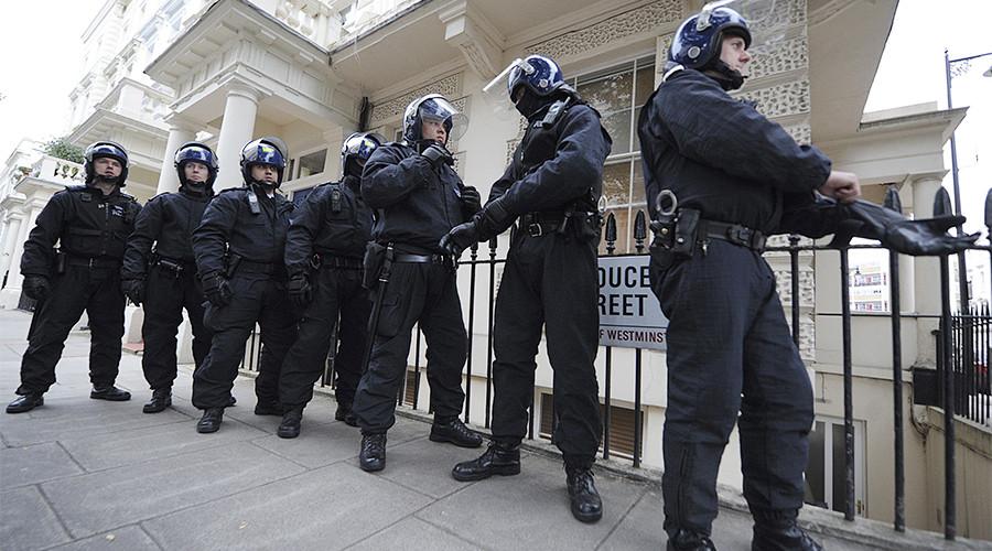 Police 'foil active terrorist plot' after woman shot in London raid