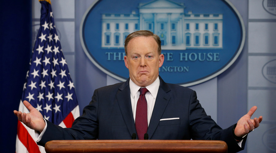 Sean Spicer's 100-day rollercoaster:  From 'Russian dressing' to 'Holocaust denial'
