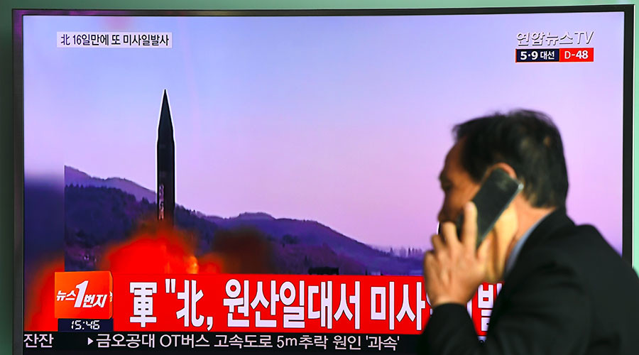 N. Korean ballistic missile test 'estimated to have failed' – Seoul