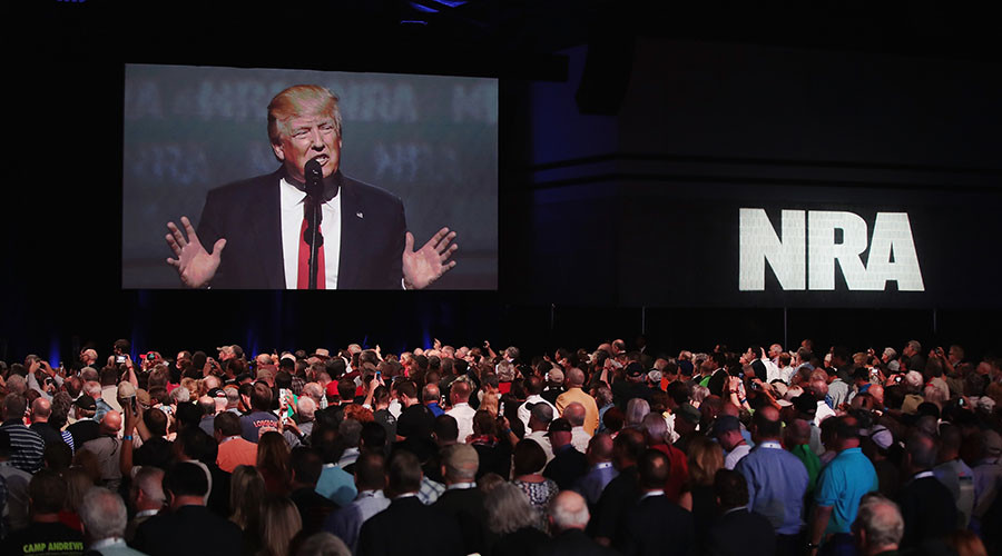 '8-yr assault' on gun rights 'has come to a crashing end,' Trump tells NRA