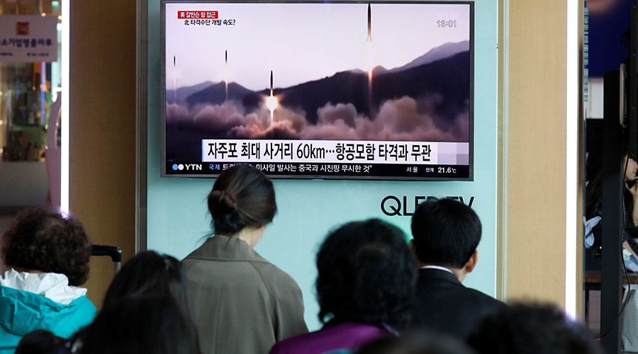 Russia backs China's call to stop N. Korea nuke tests in exchange for halt in US-S. Korea drills