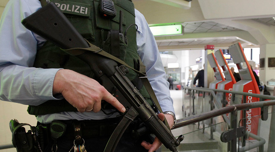 Flights diverted from Berlin airport as police investigate suspicious package