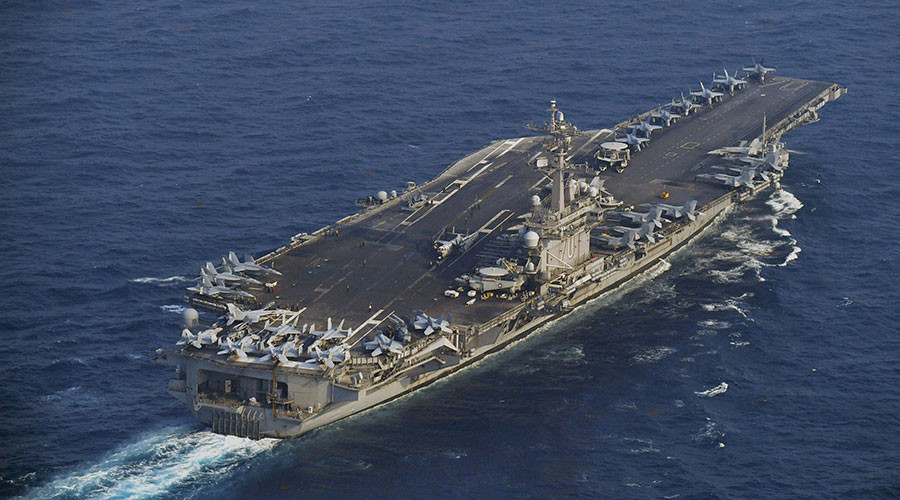 Joint US-S. Korea naval drills start in Sea of Japan amid tensions around Korean peninsula