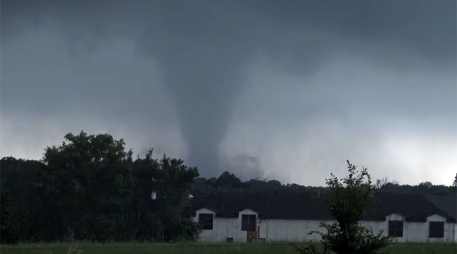 Powerful tornados sweeping through east Texas leave death & destruction in their wake (PHOTOS)