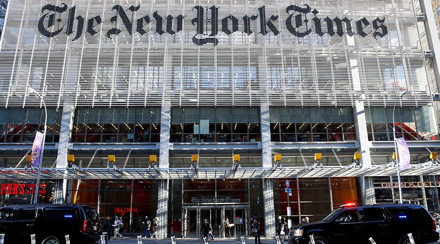 NYT faces 'fiery revolt' by subscribers after hiring 'climate science denier'