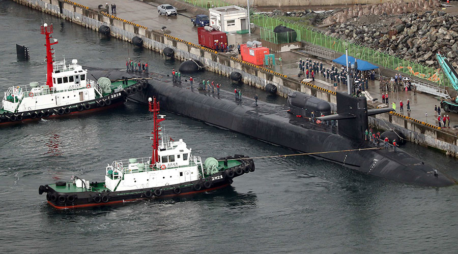 'Miserable end': N. Korea threatens to sink US nuclear submarine in S. Korea